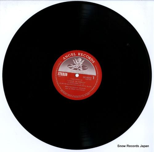 KARAJAN, HERBERT VON conducts music of johann strauss EAC-80242 - disc