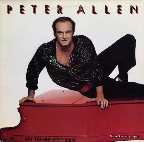 ALLEN, PETER not the boy next door 25RS-180 - front cover
