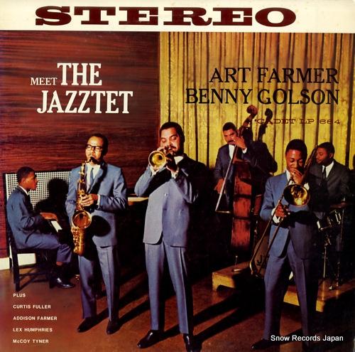 FARMER, ART meet the jazztet MJ-1001 - front cover