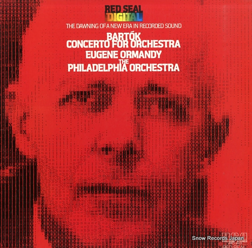 ORMANDY, EUGENE bartok; concerto for orchestra RVC-2289 - front cover