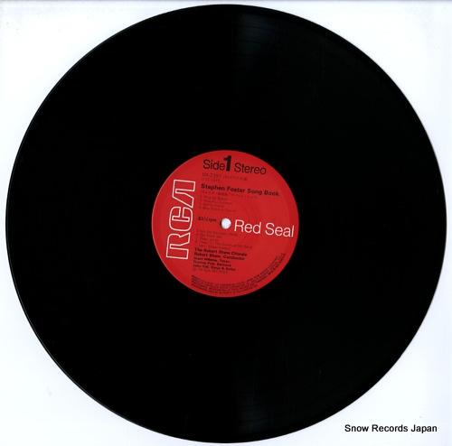 SHAW, ROBERT stephen foster song book RX-2397 - disc