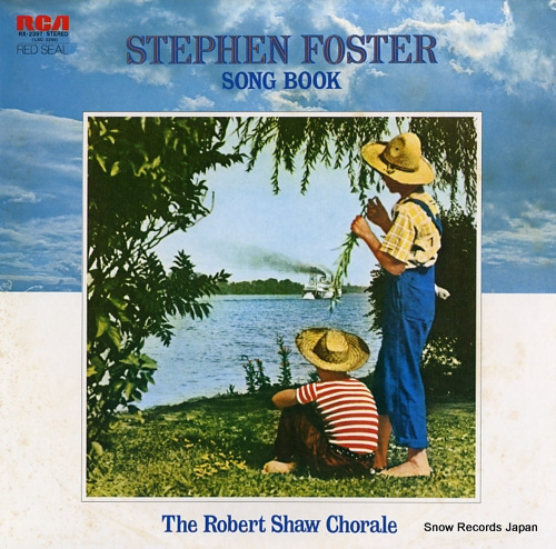 SHAW, ROBERT stephen foster song book RX-2397 - front cover