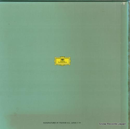 BERNSTEIN, LEONARD beethoven; missa solemnis MG8371/2 - back cover