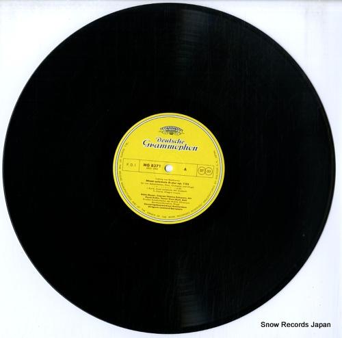 BERNSTEIN, LEONARD beethoven; missa solemnis MG8371/2 - disc