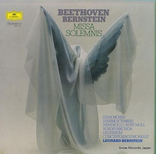 BERNSTEIN, LEONARD beethoven; missa solemnis MG8371/2 - front cover