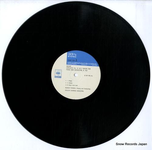 PERAHIA, MURRAY mozart; concerti no21, k.467 25AC199 - disc