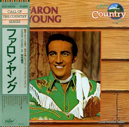 YOUNG, FARON faron young ECS-50056 - front cover
